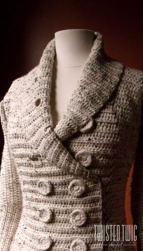 THREE SEASONS CARDIGAN - CROCHET PATTERN ($5.00) Even though the weather is beginning to get a little warmer, here at the TTC studio we do a massive amount of crocheting during the spring and summer...