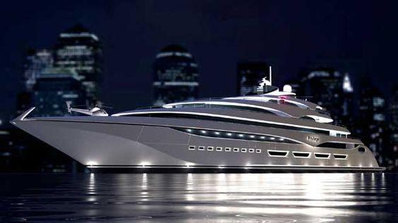 Laraki Divulge Details of 126-Meter 'Privilege One' Motor Yacht