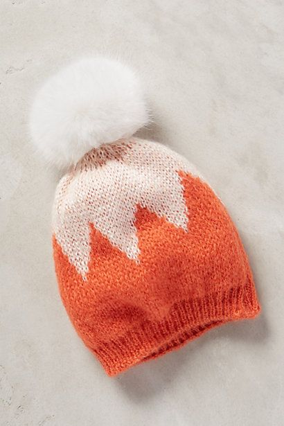 Chevron Pom Beanie - anthropologie.com #anthrofave