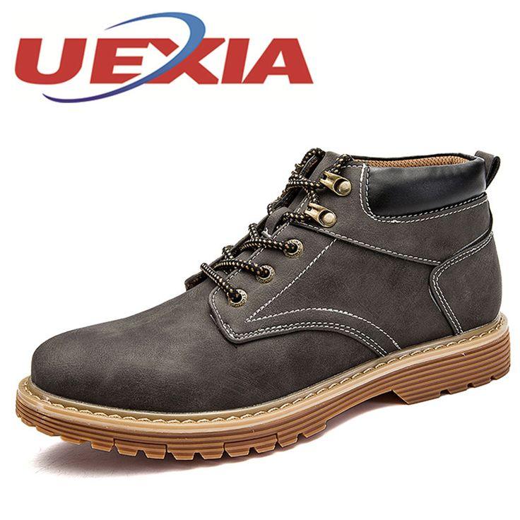 Résistance à l'usure Vintage Hommes lacent neige Boot uyf0Q5w