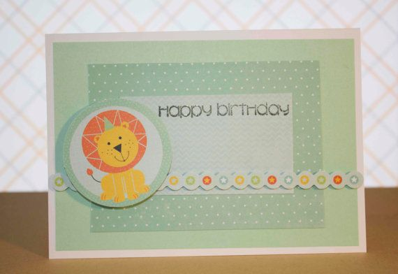 Party Animals Happy Birthday Greeting Card by TartanElephantAus, $6.00