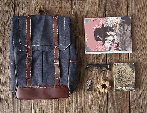 Backpack Bag Canvas Backpacks Boys Backpacks
