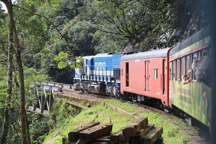 Trem Curitiba Morretes