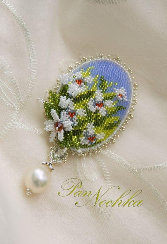 Альбом пользователя PanNochka: Брошь-кулон Любит, коллекция Пусть будет нарядной земля