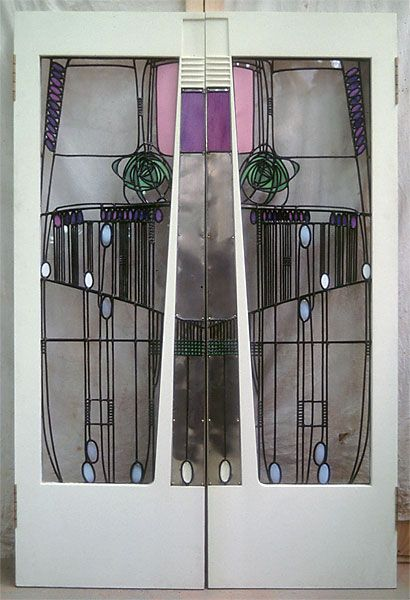 Salon De Lux Doors Willow Tea Rooms C R Mackintosh These