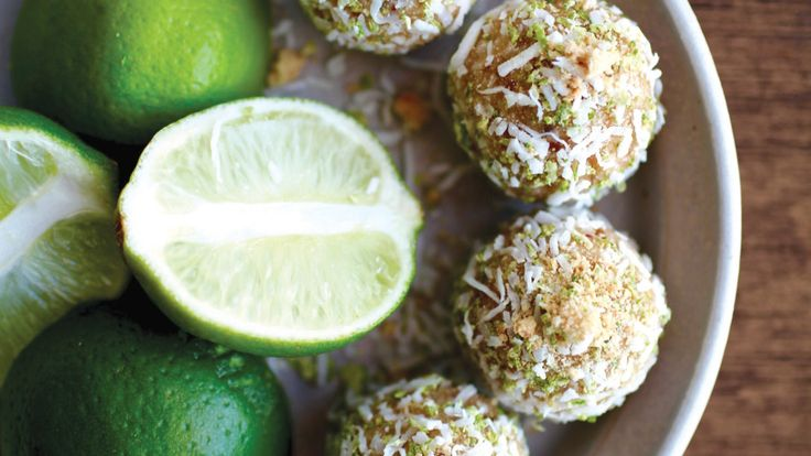 Lime and Coconut Balls Recipe