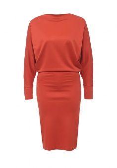 Платье, MadaM T, цвет: оранжевый. Артикул: MA422EWPZE17. Женская одежда / Платья и сарафаны