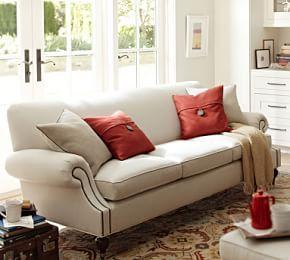 Brooklyn Upholstered Sofa #Pottery Barn