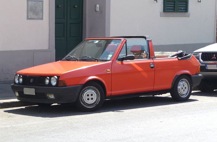 Fiat Strata 2-door 2nd series cabriolet – 1982