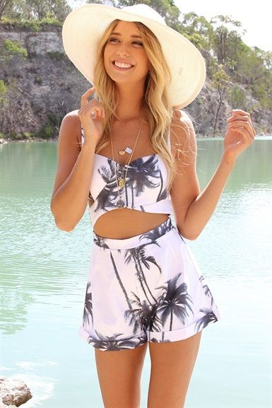Tropical two-piece