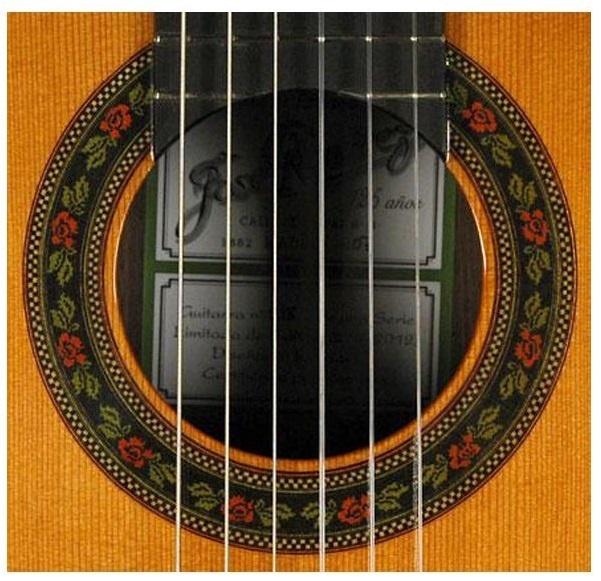 Ramirez 125 Anos Classical Guitar   a classic photo