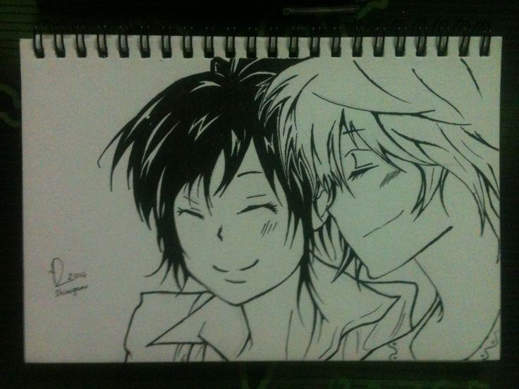 Friendship   Kyoko Sasagawa and Haru Miura - Hitman Reborn   Draw by BotChocolate