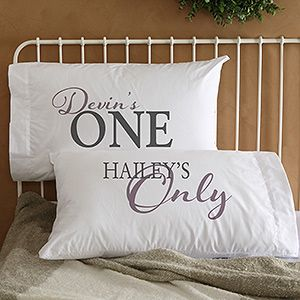 You're My... Personalized Pillowcase Set