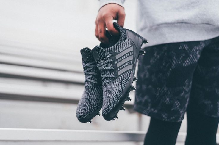 """adidas Unveils a """"Triple Black"""" UltraBOOST Cleat"""