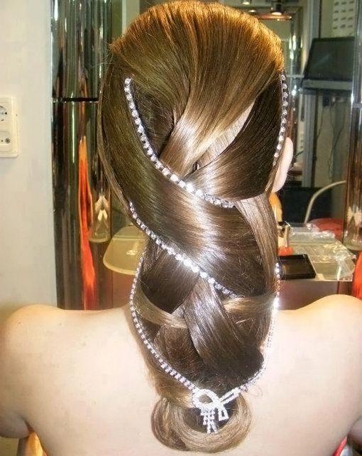Прически на выпускной на длинные волосы – 35 фото модных вариантов