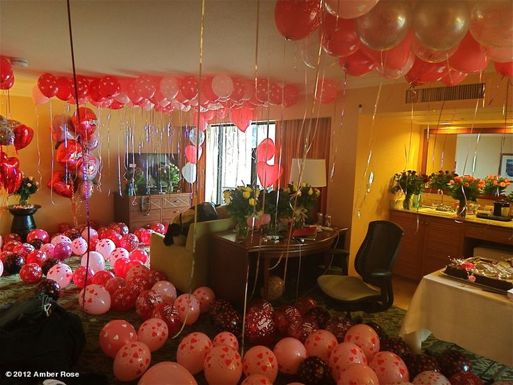 Surprise hotel room google search welcome ideas for - Decorate hotel room romantic ...