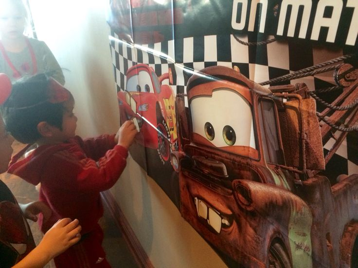 Pin the teeth mater was also a hit