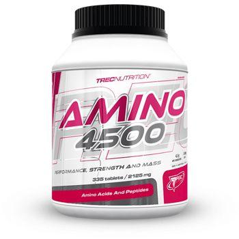 AMINO 4500: 100% aminokwasów z hydrolizatu koncentratu bialka serwatki   Zwiększa wydolność i wspomaga budowę mięśni Wysoka dawka anabolicznych aminokwasów 100% hydrolizatu koncentratu bialka serwatki