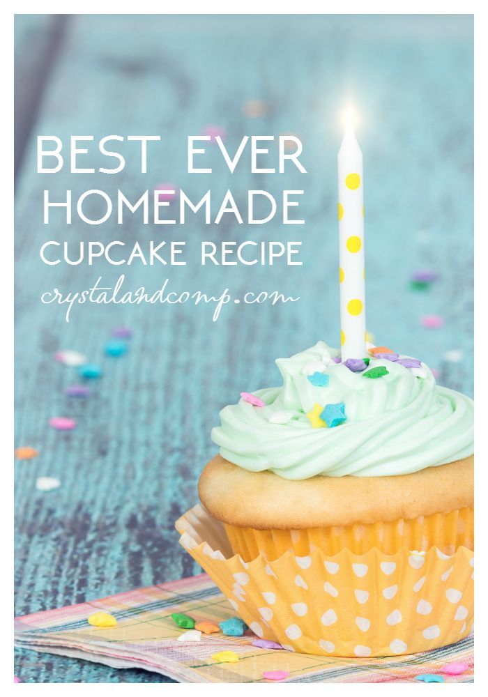 best homemade cupcake recipe
