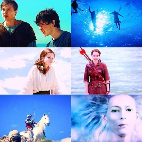 the chronicles of narnia characters + blue