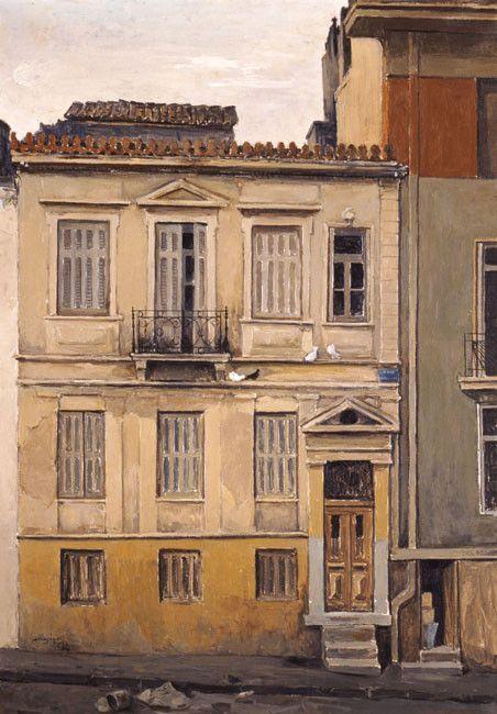 Constantinos Malamos - 1913-2007 - house in Dexameni, 1964