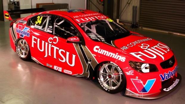 2013 Fujitsu Racing Livery