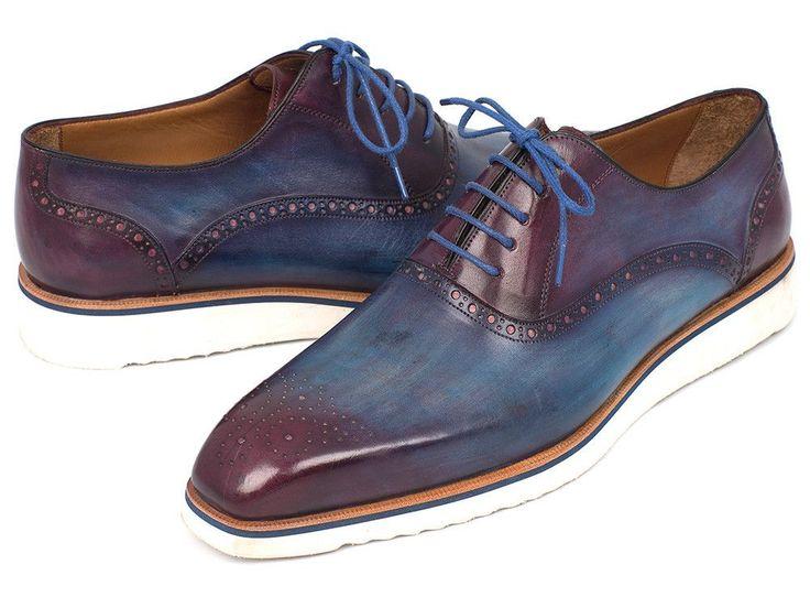 Casual Oxfords Blue & Purple - PRO Quality