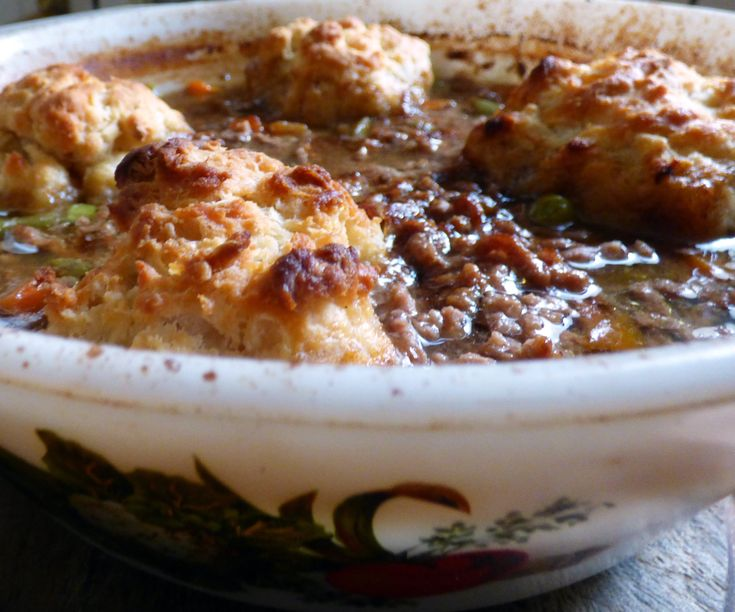 Slimming World Mince and Dumplings (I kid you not!)