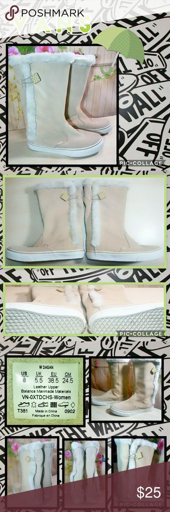 Vans Boots GUC~ so cute! Vans Shoes Winter & Rain Boots