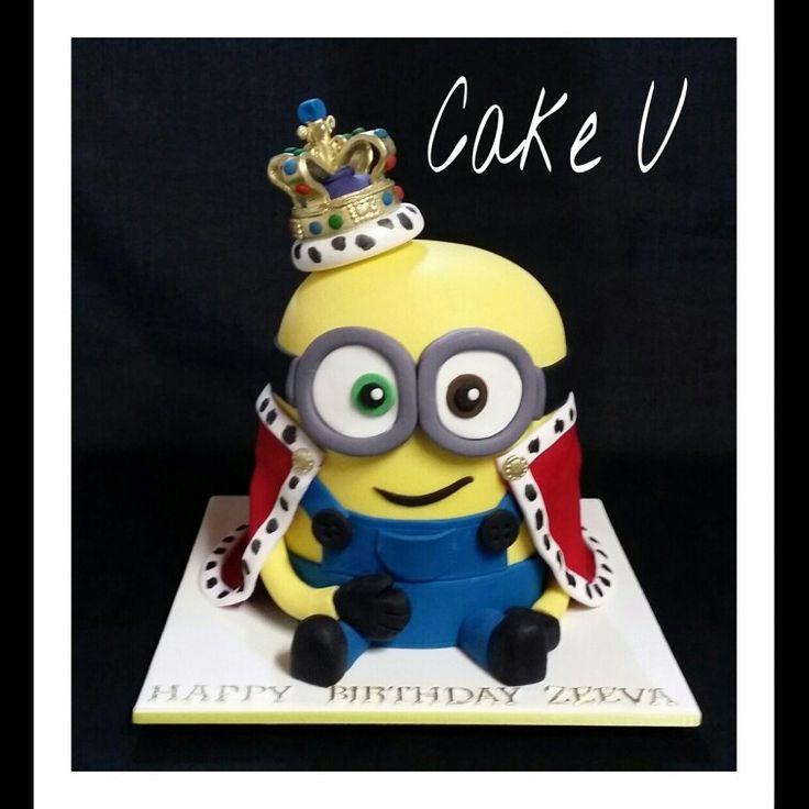 King Bob Minion Cake