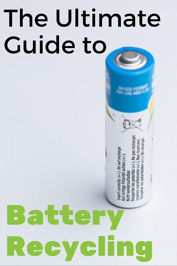 I've been wondering how to recycle single use batteries. This is so helpful. I had no idea there were so many types of batteries out there and they are all recyclable.