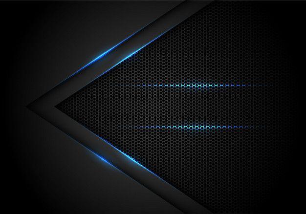 Pin On غ Cool black blue wallpaper