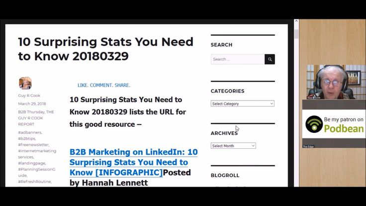 10 Surprising Stats You Need to Know 20180329 lists the URL for this good resource from the stats for LinkedIn.com