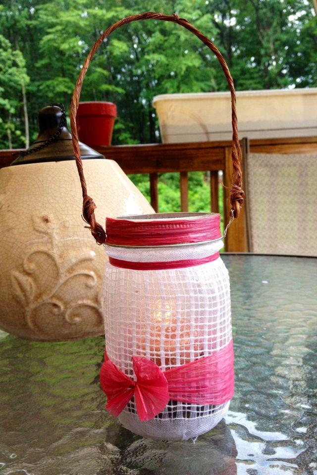Mason jar diy candle holder great ideas pinterest for Diy candle jar decorations