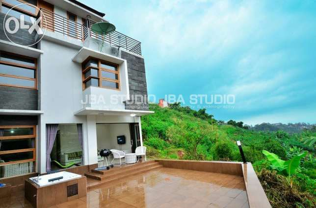 Villa 3 Kamar, Resort Dago Pakar, Bandung (Amethyst 45)