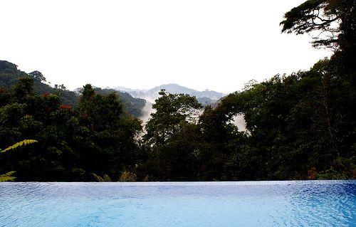 Nyungwe Forest Lodge Pool, Rwanda