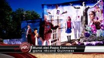 Mural Del Papa Francisco Gana Récord Guiness #Video