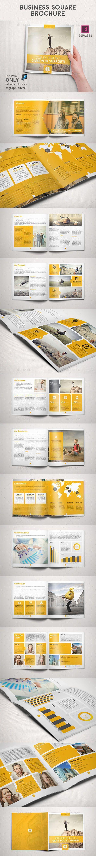 Business Square Brochure - Corporate Brochures: