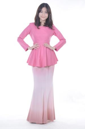 Pink Modern Baju Kebaya
