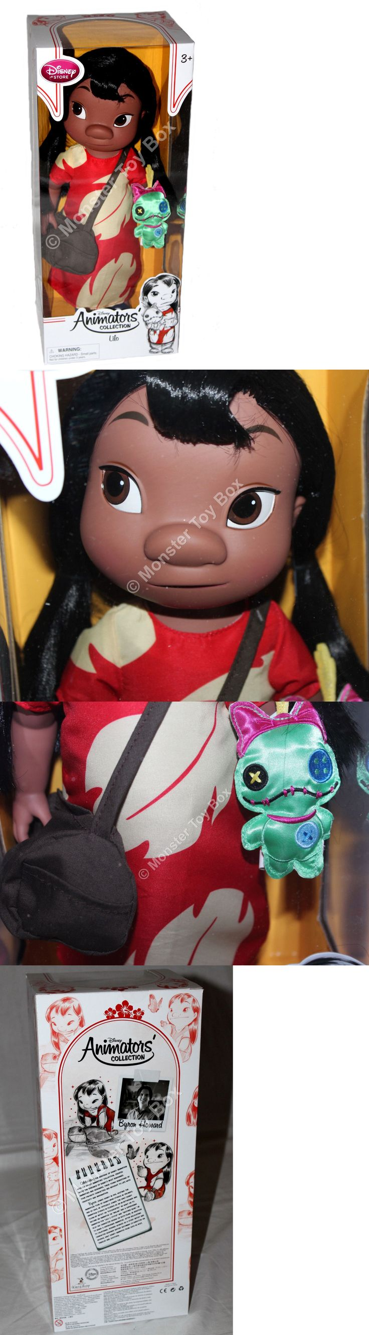 Lilo and Stitch 44035: 16 Animator Toddler Lilo Doll Disney Store Lilo And Stitch -> BUY IT NOW ONLY: $49.6 on eBay!