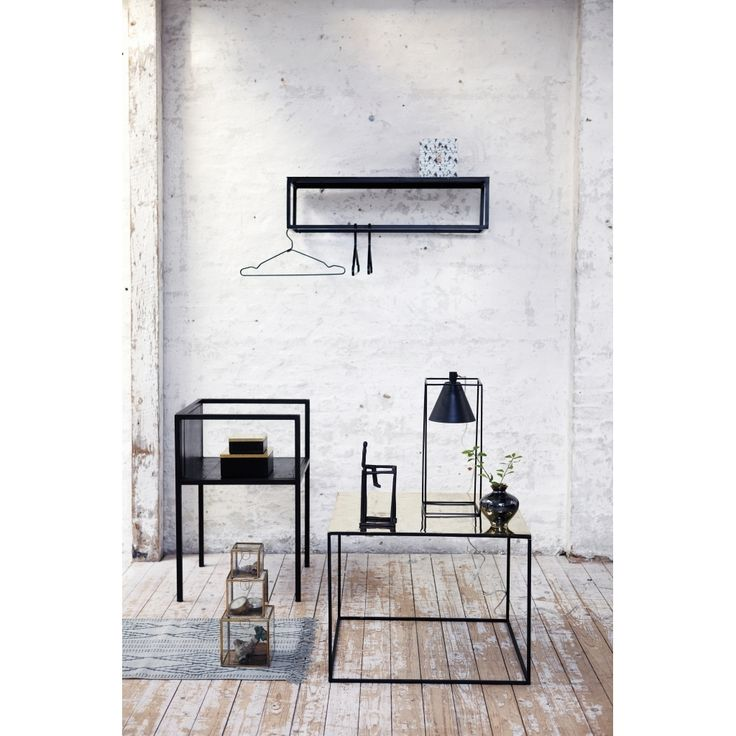 Lampa KUBIX stojąca, czarna - North&South Home