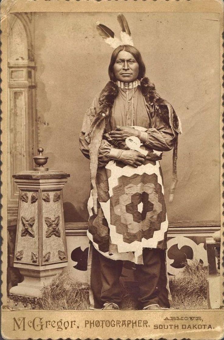 Sioux man 1880s