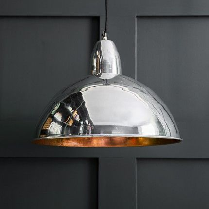 Contemporary Ceiling Pendant Light in Chrome
