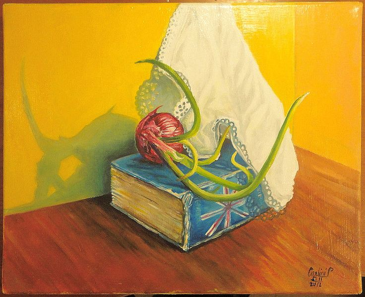 dipinto ad olio -