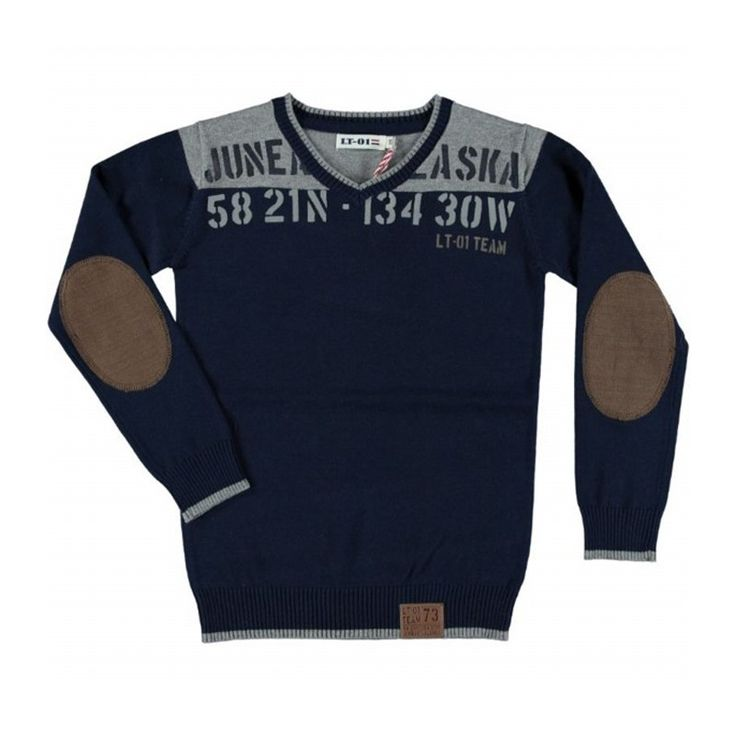 LT-01 Pullover Navy bij Minimoda. #Jongenskleding #Jongens #Kinderkleding