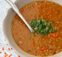 http://vegetarian.about.com/od/soupsstewsandchili/r/lentilsoup.htm
