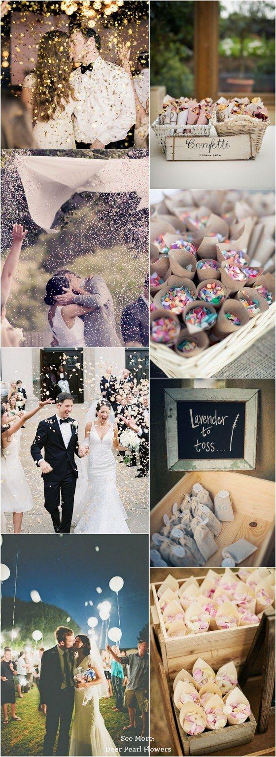 glitter wedding exit toss / http://www.deerpearlflowers.com/wedding-exit-send-off-ideas/