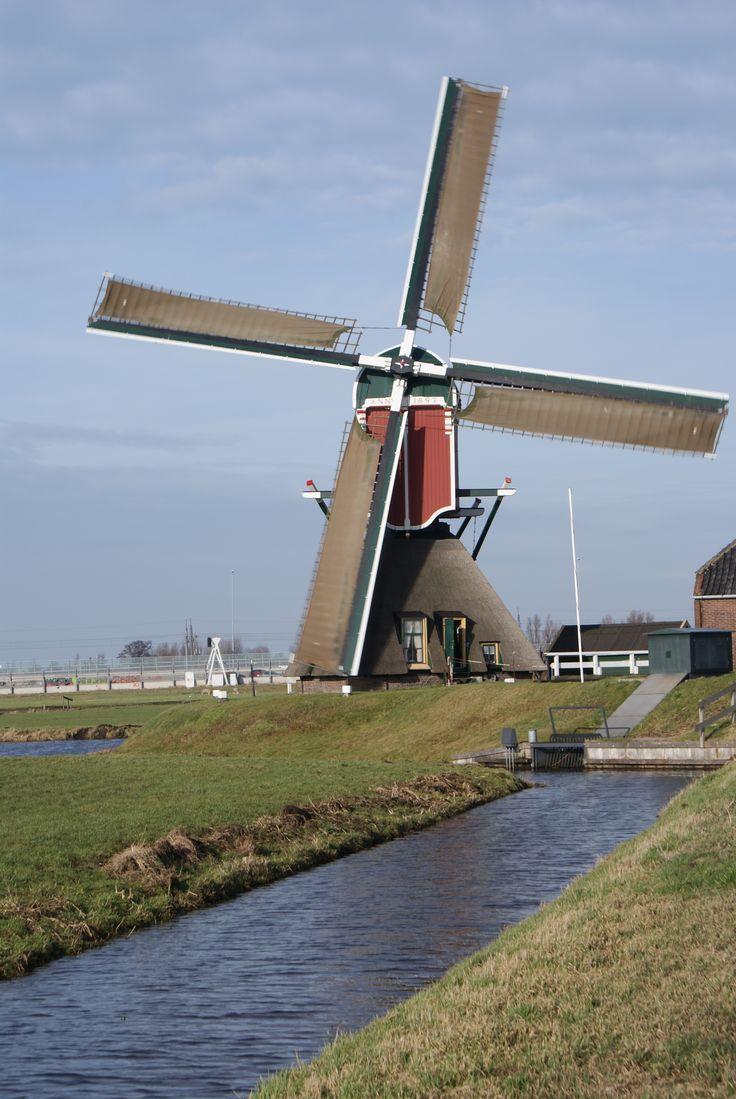 [967] Hoogmadesche molen of de Heerlijkheidsmolen te Hoogmade