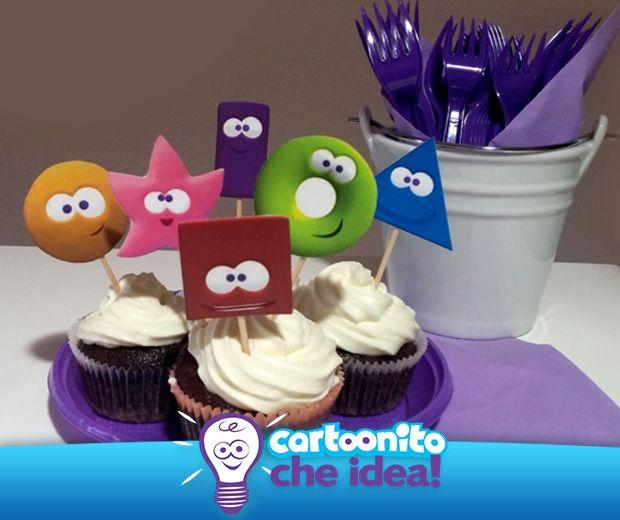 CARTOONITO CHE… CUPCAKE!  #CartoonitoCheIdea #Cartoonito#CakeDesign #kids #food #ricette #bambini #cupcake #cartoonitos