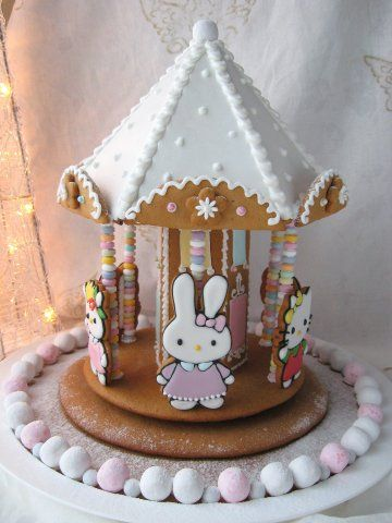 Hello Kitty Gingerbread House